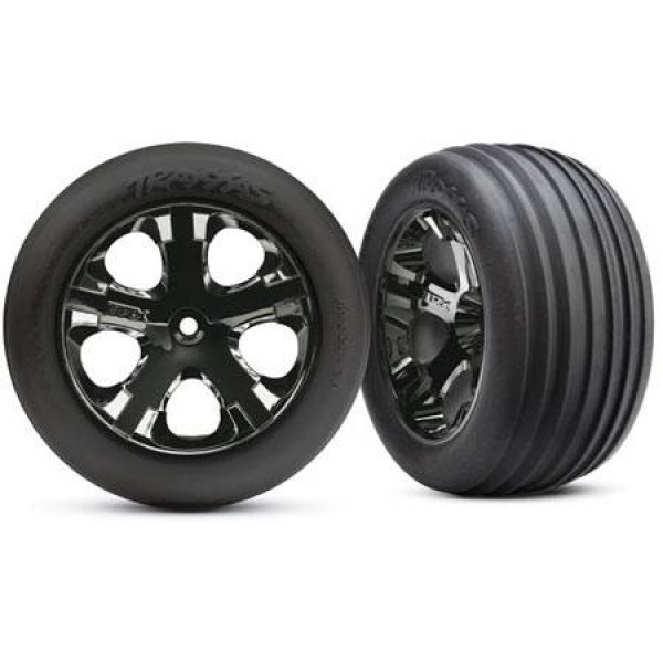 "Traxxas Mounted 2.8"" Tires Electric Front (2)"
