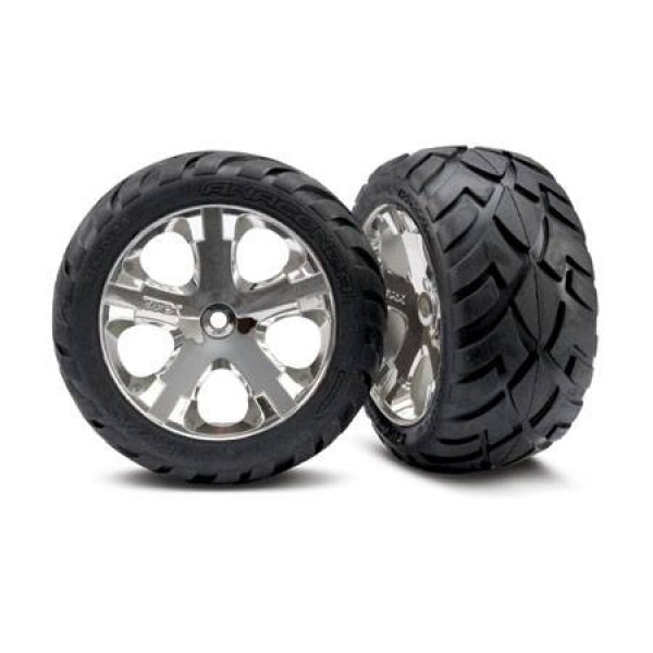 Traxxas Anaconda pre-assembled rear tires with All-Star wheels (2)