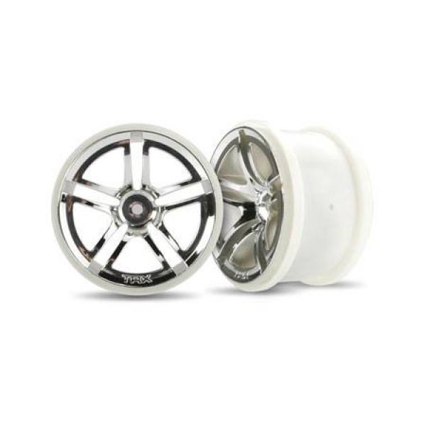 """Traxxas Jato Twin Spoke 2.8"""" Rear Wheels (2)"""