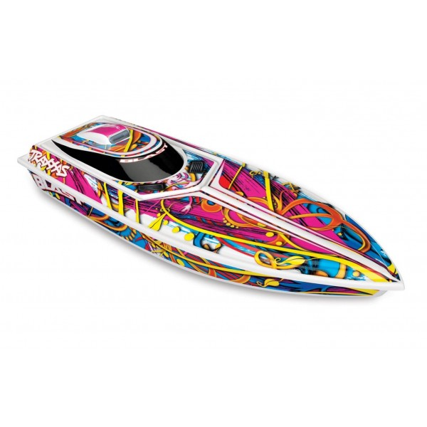 Traxxas Blast High Performance Race Boat with TQ 2.4GHz Radio System RTR Multi Color