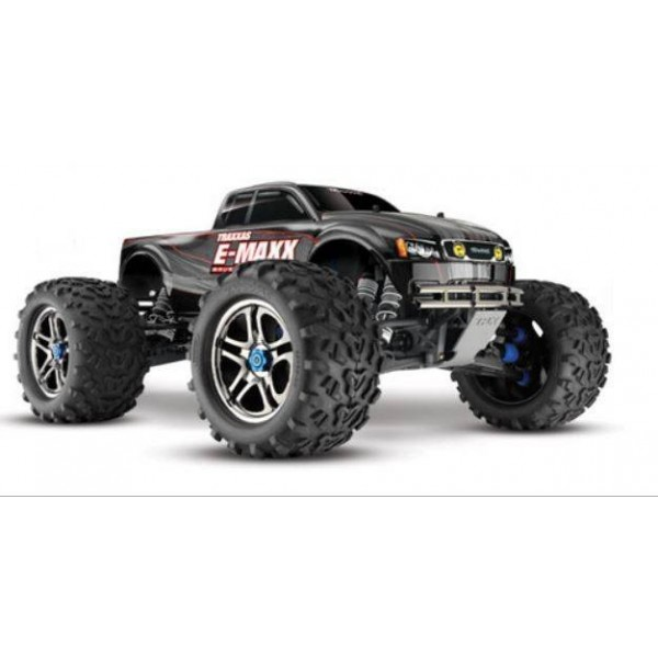 Traxxas E-Maxx 1/10 electric 4X4 Monster Truck. Brushless, Waterproof, TQI Link