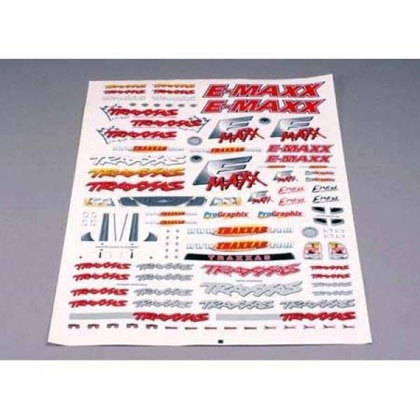 Traxxas E-Maxx Decal Sheet