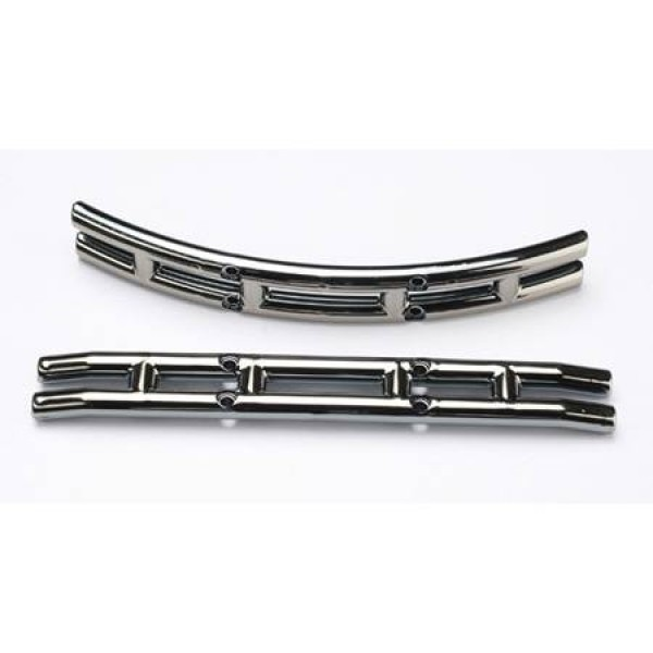 Traxxas Bumpers Black Chrome Left & Right