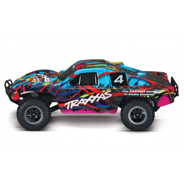 Traxxas Slash 1/10 2WD RTR SCT with TQ Radio, Hawaiian
