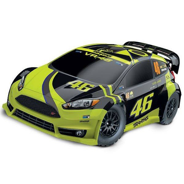 Ford Fiesta ST 1/10 4WD Valentino Rossi VR46 Special Edition Rally car