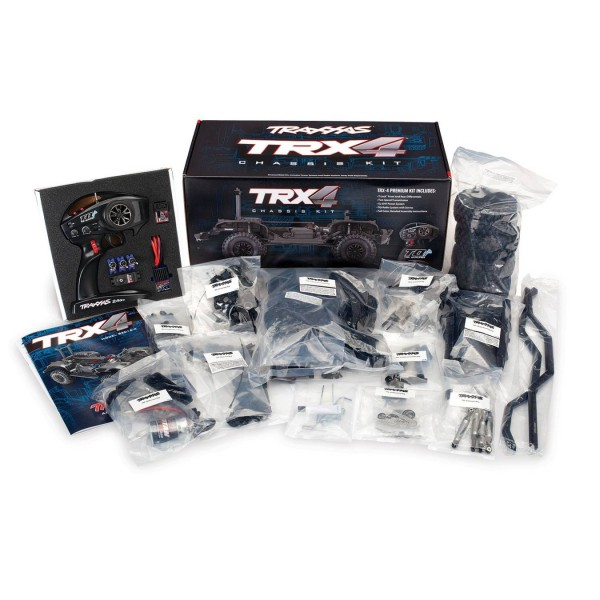 TRX-4 Assembly Kit: 4WD Chassis with TQi Traxxas Link Enabled 2.4GHz Radio System