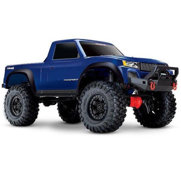 TRX-4 Sport 4WD Electric Truck with TQ 2.4GHz Radio System, blue