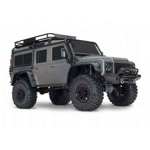 TRX-4 Scale and Trail 1/10 4WD Crawler with Land Rover Body, Silver
