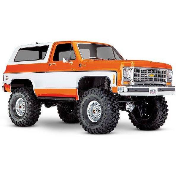 Traxxas Blazer Scale and Trail 1/10 4WD Rock Crawler, Orange