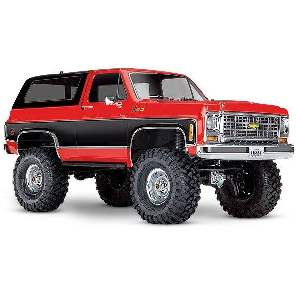 Traxxas Blazer Scale and Trail 1/10 4WD Rock Crawler, Red