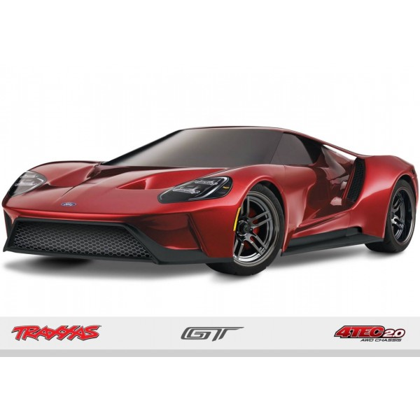 4-Tec 2.0 RTR 1/10 4WD Touring Car with Ford GT Body, Red
