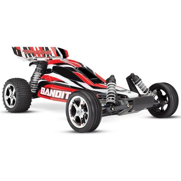 Bandit XL-5 1/10 RTR Buggy with TQ 2.4GHz Radio System, Red
