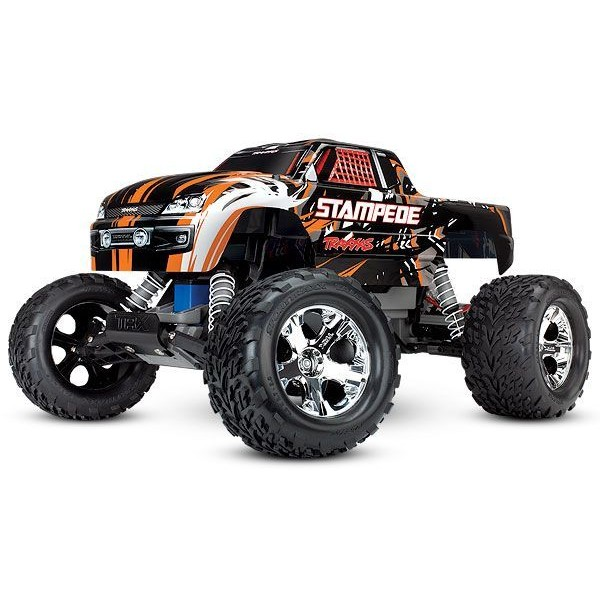 Traxxas STAMPEDE 1/10  2WD RTR Monster Truck with XL-5 ESC, Orange