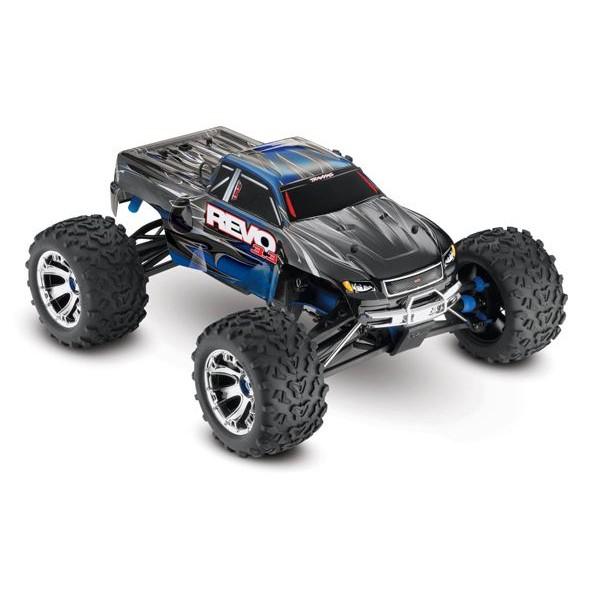 Revo 3.3 4WD 1/10 Nitro RTR two-speed Monster Truck, BLUE