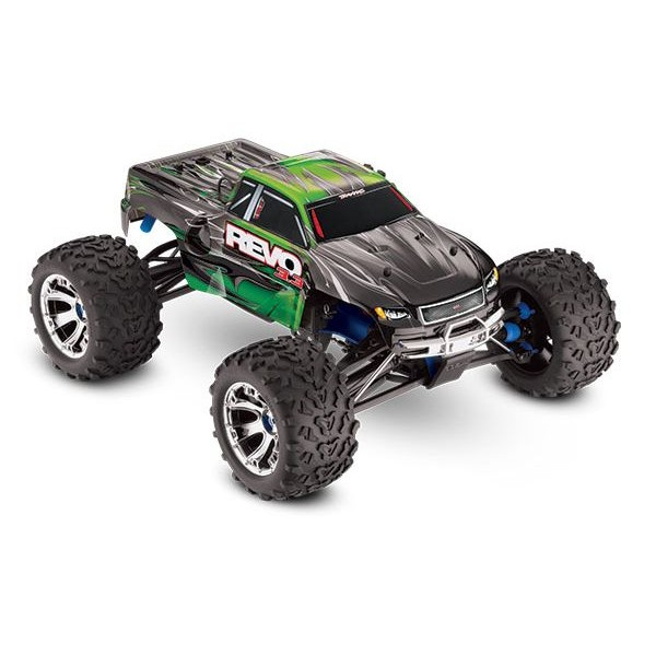 Traxxas Revo 3.3 4WD 1/10 Nitro RTR two-speed Monster Truck, GREEN