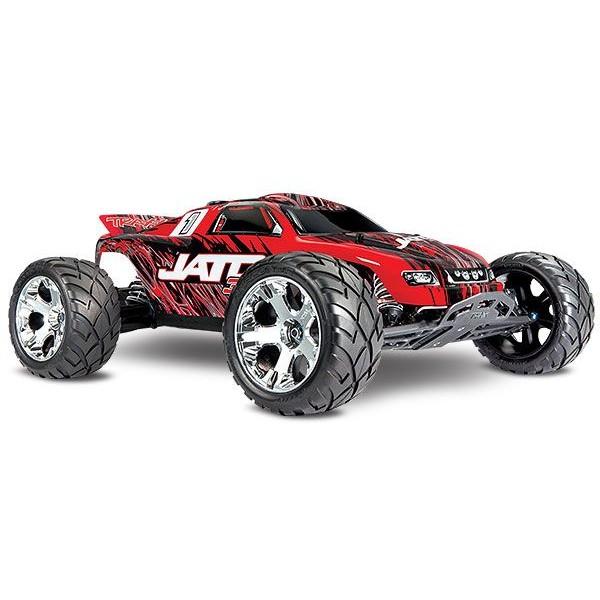 Traxxas Jato 3.3 2-Speed Nitro-Powered 2WD 1/10 Stadium Truck with TQI and TSM, RedX