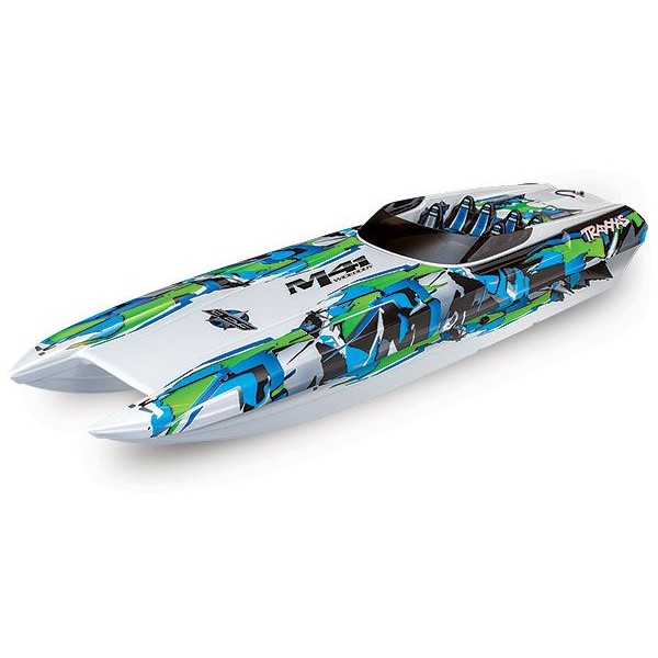 """Traxxas DCB M41 40"""" Race Boat With TSM and TQi, Green"""