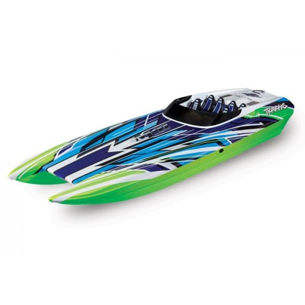 """Traxxas DCB M41 40"""" Race Boat With TSM and TQi, GreenX"""