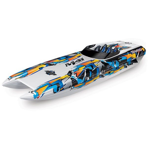 "Traxxas DCB M41 40"" Race Boat With TSM and TQi, Orange"