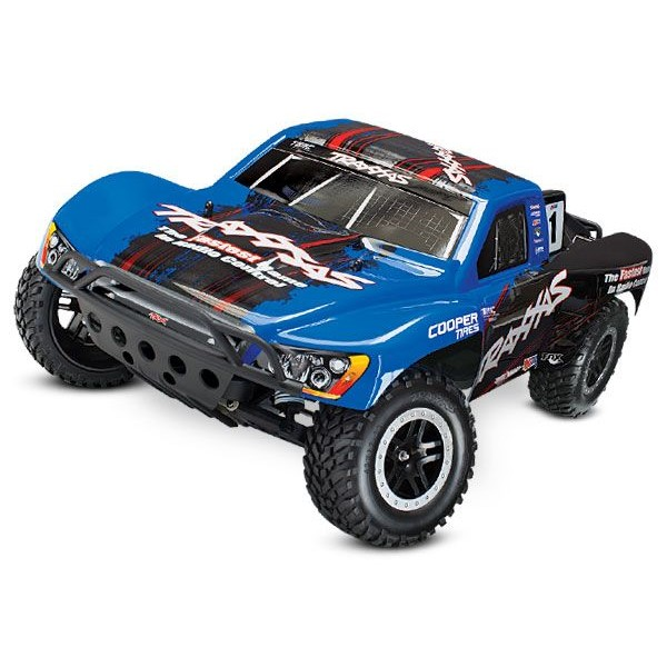 Traxxas Slash VXL 1/10 2WD Brushless SCT with TSM, BLUE