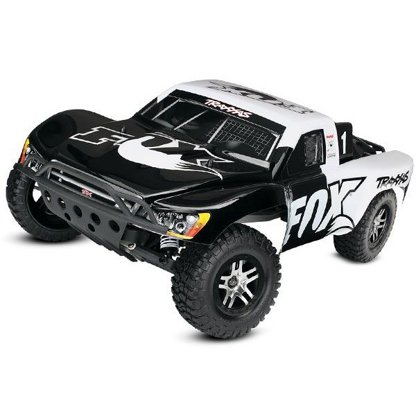 Traxxas Slash VXL 1/10 2WD Brushless SCT with TSM, FOX