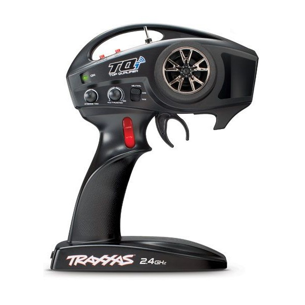 Traxxas TQi Link enabled, 2.4GHz high output, 4-channel Transmitter