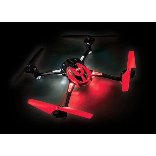 LaTrax Alias Quad Rotor Helicopter, RTF with 2.4GHz radio, Red