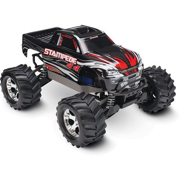 Traxxas Stampede 4x4 1/10 4WD Electric Monster Truck, Black