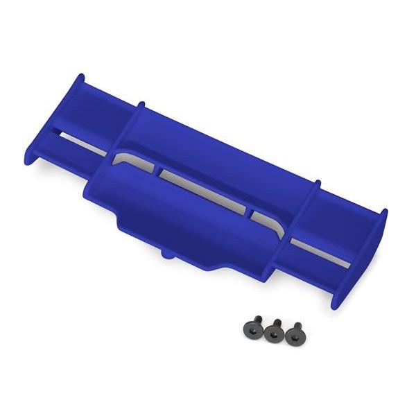 Traxxas Rustler 4x4 Wing, Blue