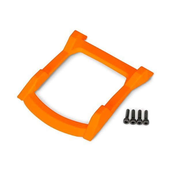 Traxxas Rustler 4x4 Roof Skid Plate, Orange (4)
