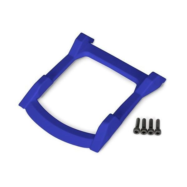 Traxxas Rustler 4x4 Roof Skid Plate, Blue (4)