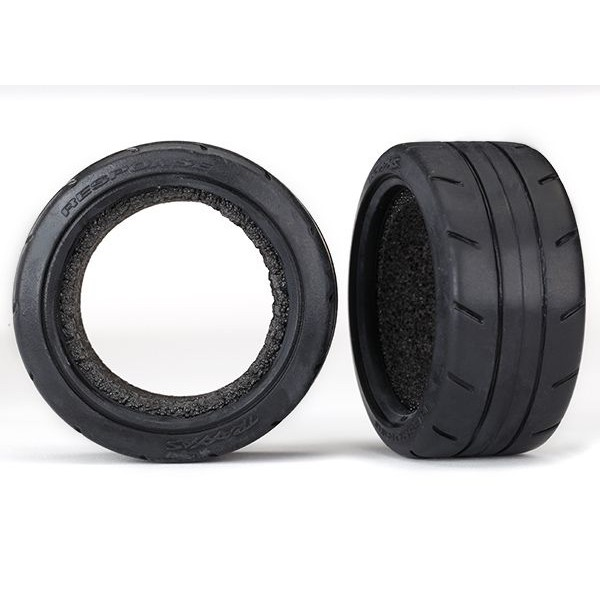 "Traxxas Response 1.9"" Touring Tires, Wide, with foam (2)"