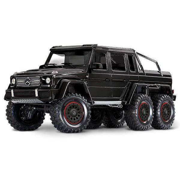 Traxxas MERCEDES-BENZ G 63 1/10 6x6 Crawler, Black
