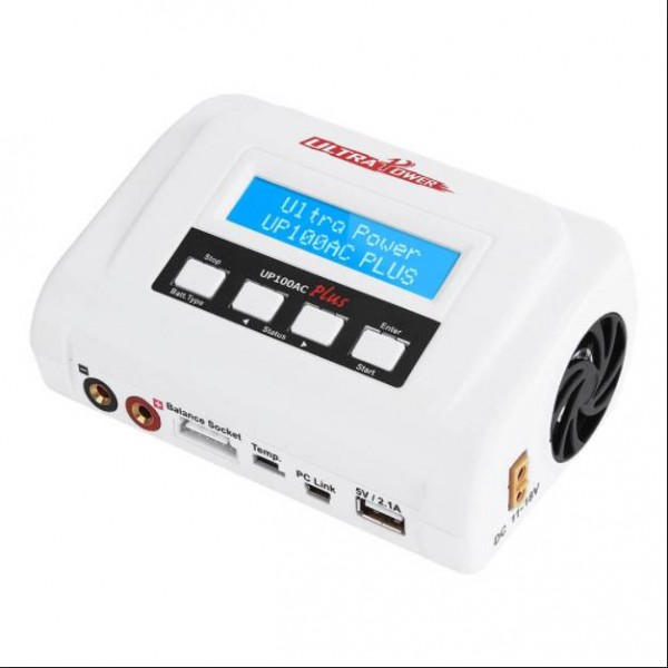 Ultra Power UP100AC Plus 100W Multi-Chemistry battery AC/DC Charger