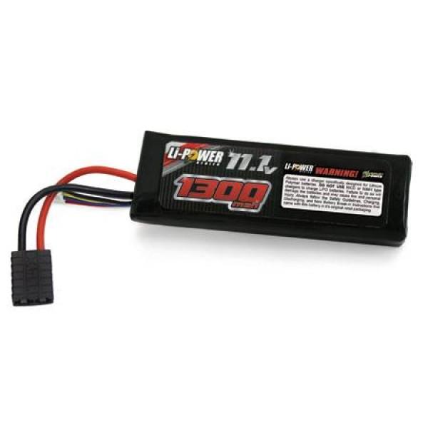 Venom LiPo Battery 1300mAh 20C 11.1V (3S) with Universal Connector