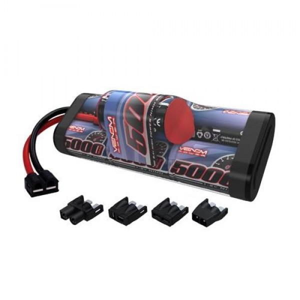 Venom NiMH Hump Battery 5000mAh 8.4V (7S) with Universal Connector