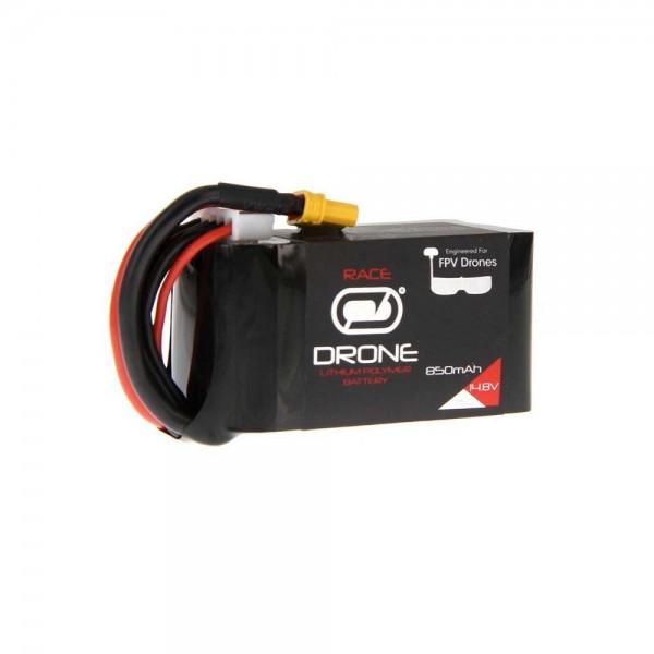 Venom Drone Racing LiPo Battery, 850mAh 75C 14.8V 4S with XT30 Plug
