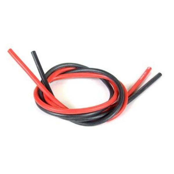 1410 Wet Noodle Flex 12-Gauge Red 2'/Black 2'