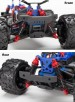 Traxxas LaTrax Teton RTR 1/18 Brushed 4WD Monster Truck, Pink